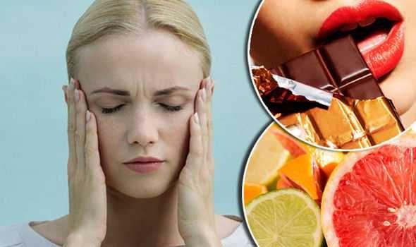 Продукты вызывающие мигрень: что нельзя есть и пить?